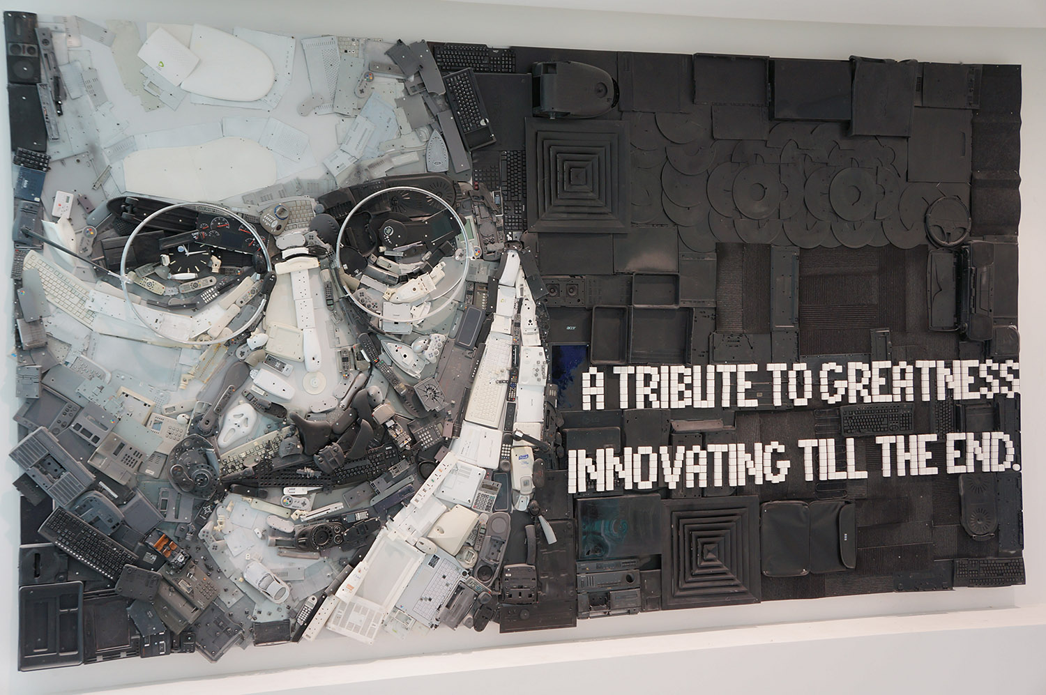 Steve Jobs Wall Sculpture Dubai